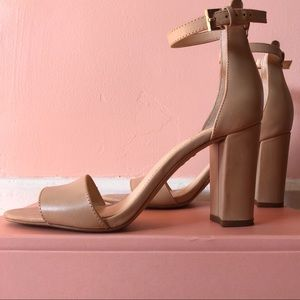 Shoes - Vince Nude Heeled Sandals